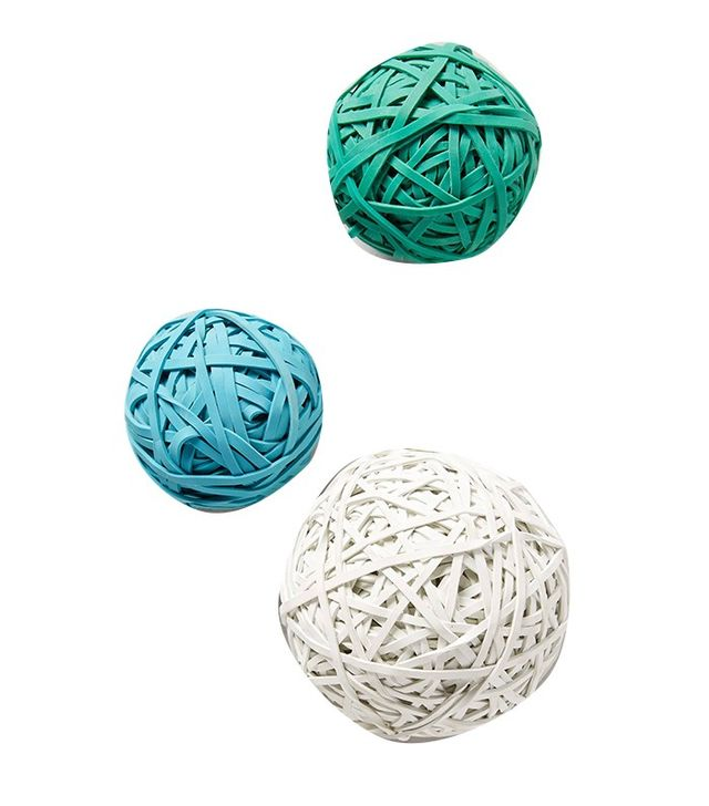 Anthropologie Rubber Band Ball