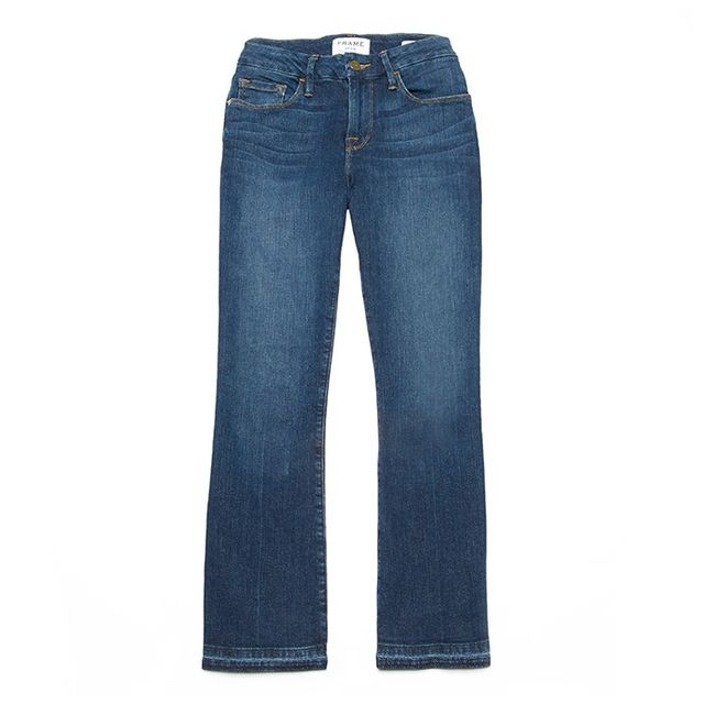 Frame Denim Le Cropped Mini Boot Jeans in Standard