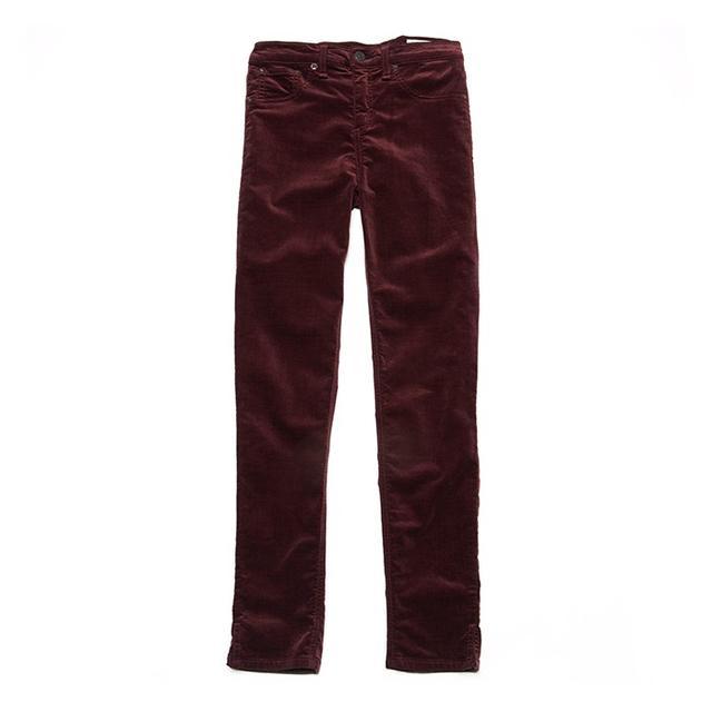 Rag & Bone/Jean Velvet Capri Skinny Jeans