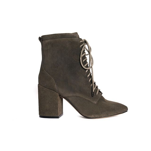 Rebecca Minkoff Lila Lace Up Booties