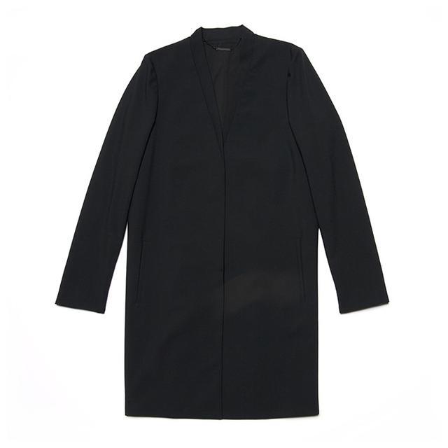 Ellie Tahari Lillian Pleat Back Jacket