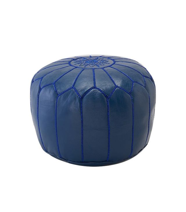 Valuca Leather Pouf