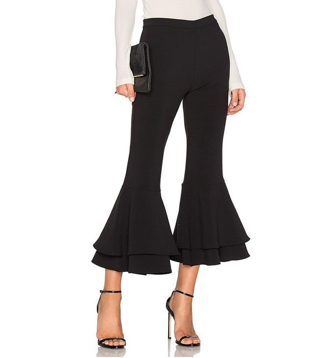 Backstage x Revolve Supafly Crop Double Ruffle Pant