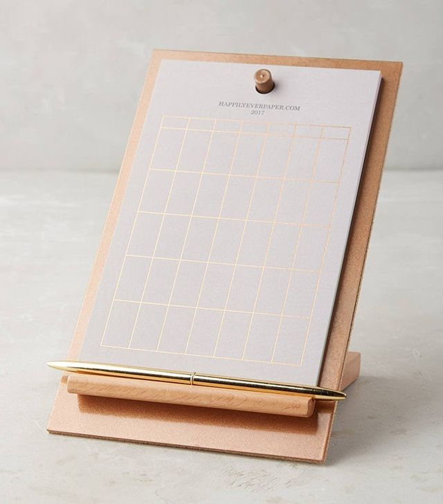 Anthropologie Easel Desk Calendar