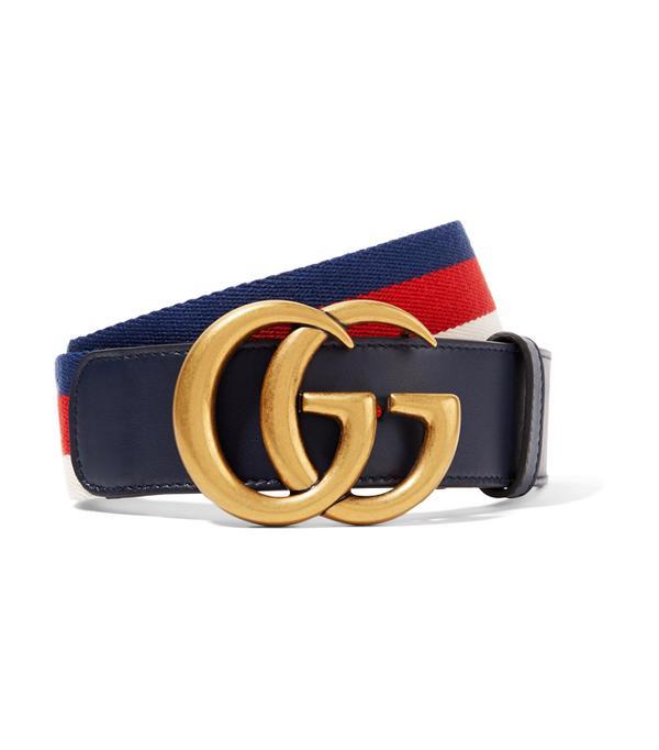 Gucci belt: Gucci Ostrich Belt