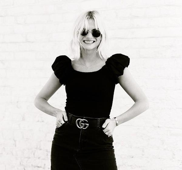 Gucci belt: Pandora Sykes