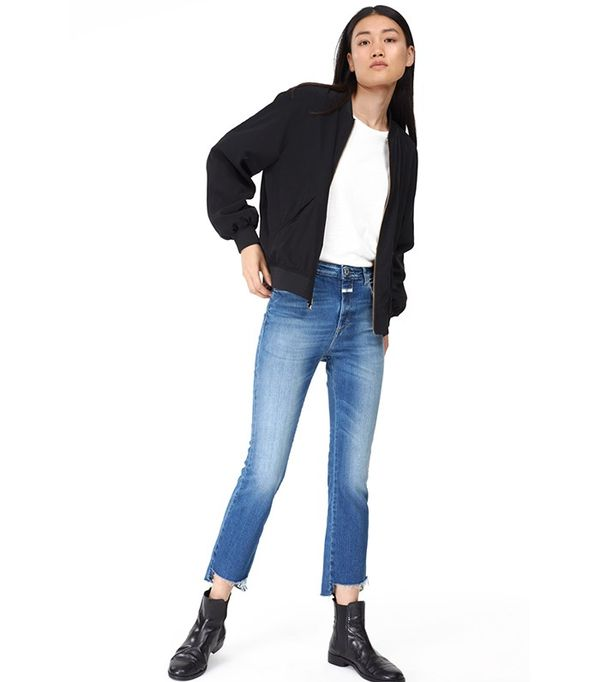Closed Denim Rose Crop Step Jeans
