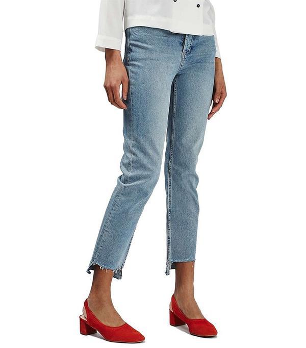 Topshop Step Hem Jeans