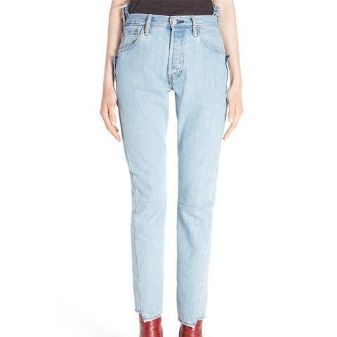 Reworked High Waist Jeans