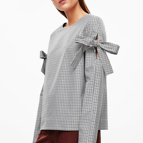 Houndstooth Check Top