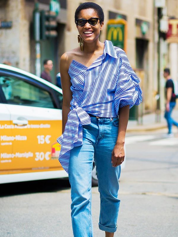 Style Notes: Tamu McPherson wearing her Johanna Ortiz style with aplomb—all you need is jeans.