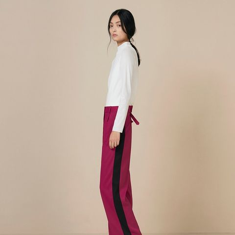 Addison Contrast Panel Trousers