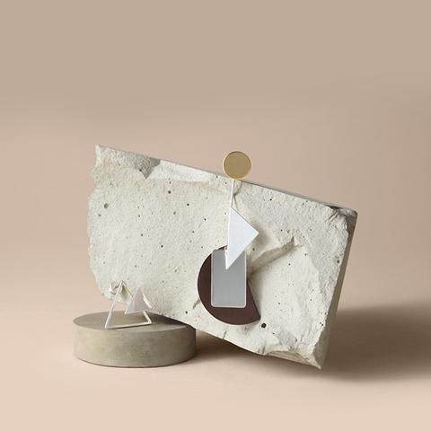Bauhaus Shapes Mismatch Ear Set