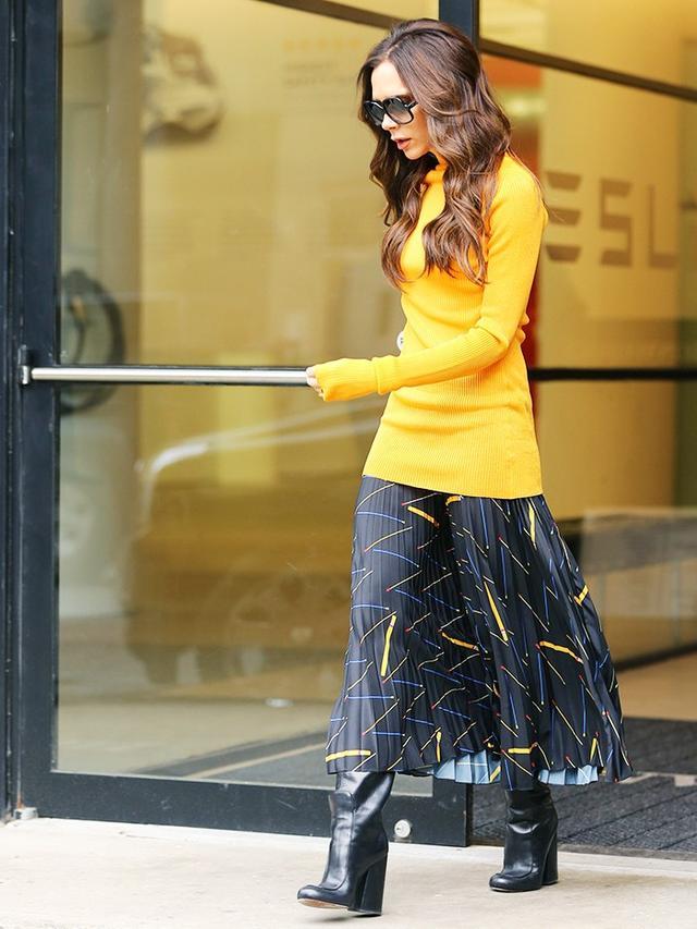 Victoria Beckham work outfit