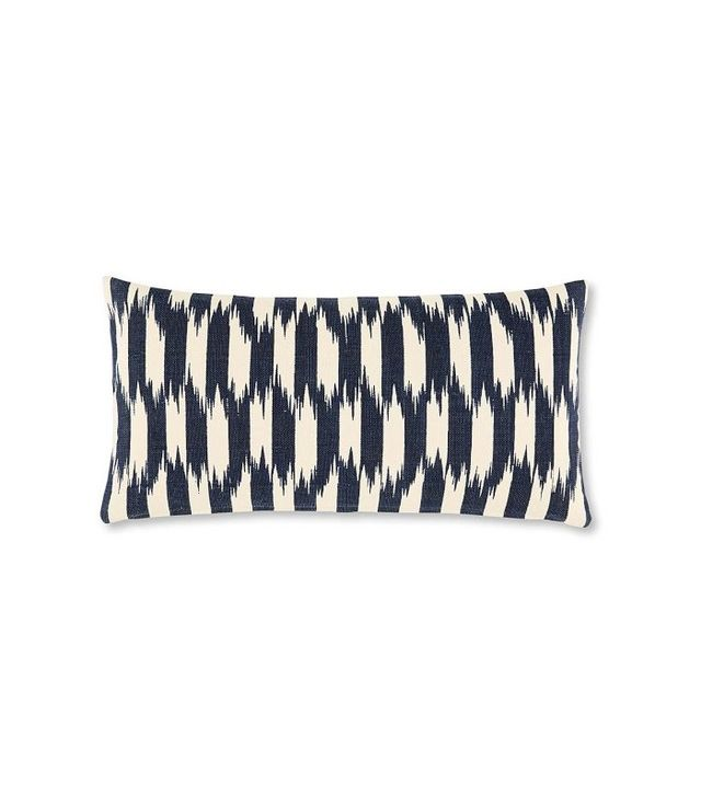 Williams-Sonoma Home Ikat Stripe Canvas Pillow Cover