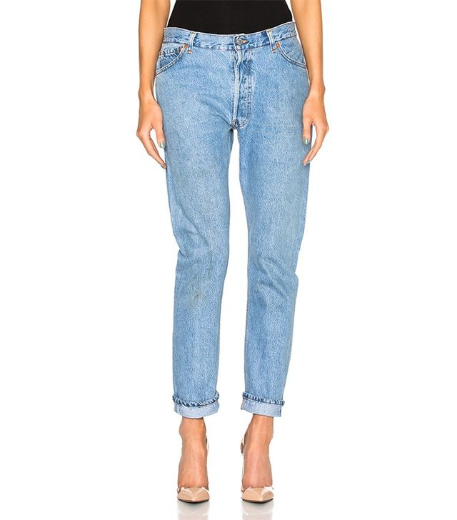 Re/done Relaxed Straight Jean