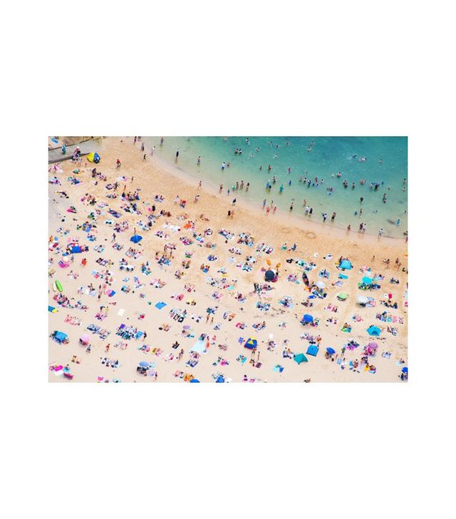 """Manly Beach Sunbathers"" by Gray Malin"