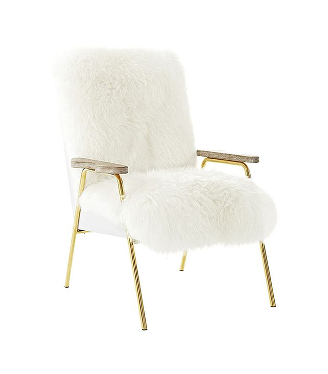 Moderneicon Australian Wool Lounge Chair