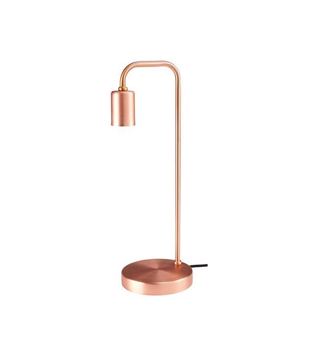 Moulin en Folie Table Lamp in Copper Metal