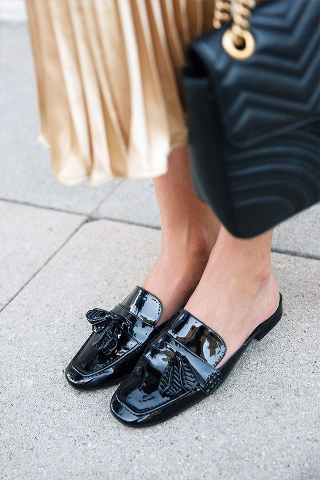 """""""This challenge forced me to look at my entire shoe collection differently and see which ones I could get creative with. It was important that the feminine outfit I was wearing had more of a..."""