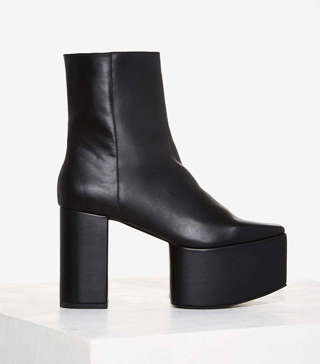 Jeffrey Campbell Macade Platform Leather Bootie