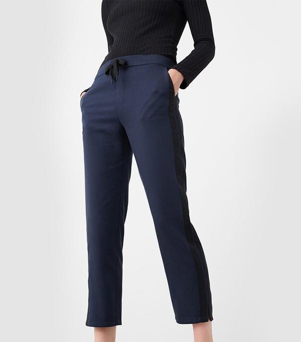 Mango Baggy Soft Trousers