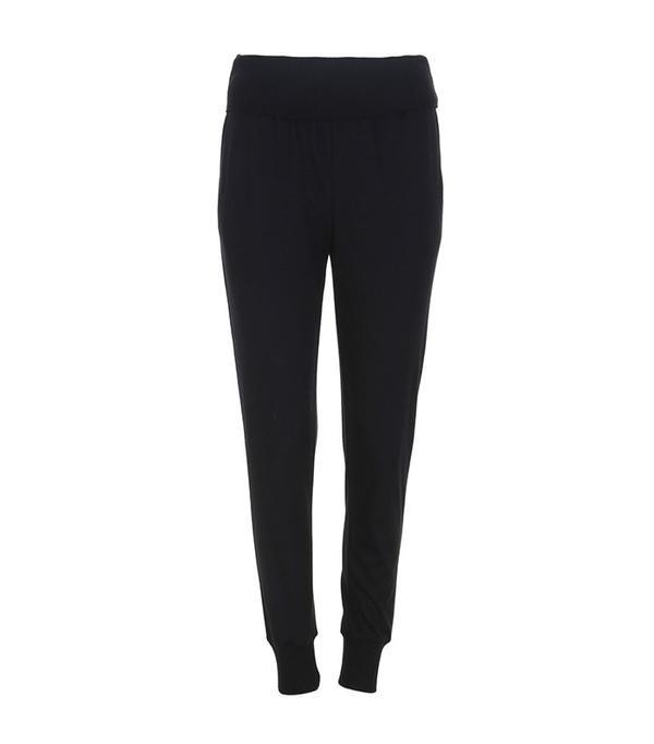 Tibi Wool Jersey Ribbed Track Pants