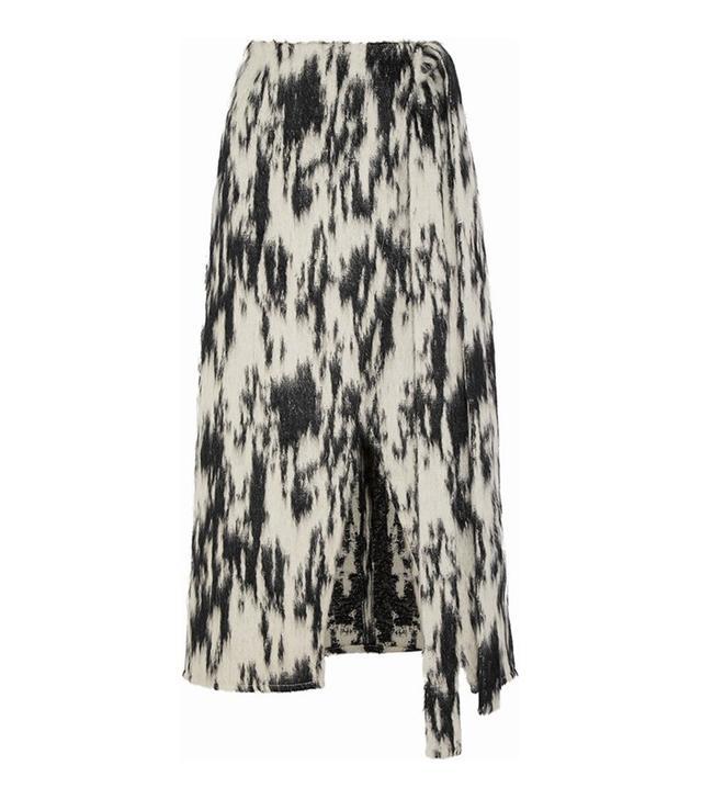 Beaufille Sinope Wrap-Effect Midi Skirt
