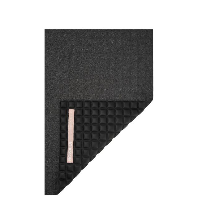 Quilted Microfiber And Sponge Yoga Mat
