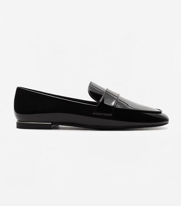 Mango Patent loafers
