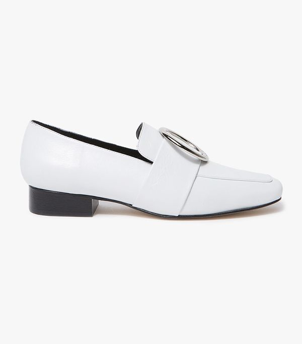 Harput in White New Vintage Leather