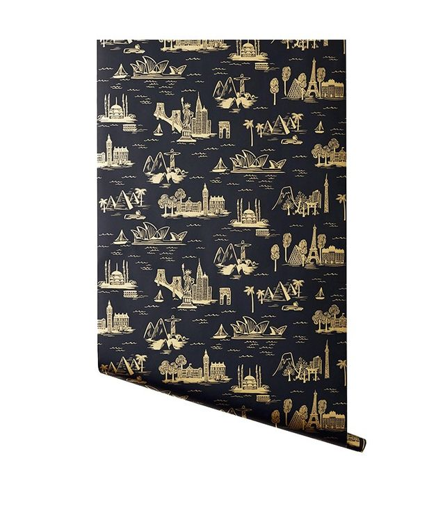 Rifle Paper Co. Cities Toile Wallpaper