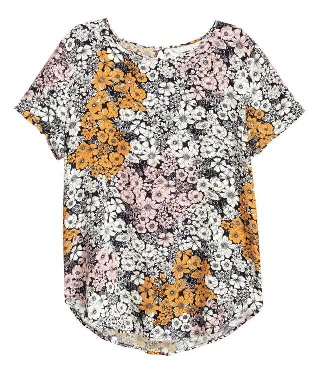 H&M Short-Sleeved Blouse