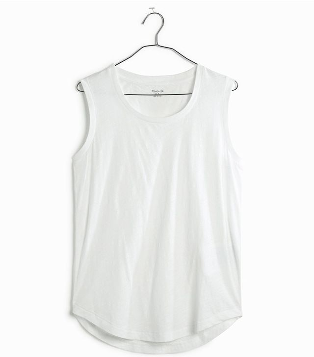 Madewell Whispser Cotton Crewneck Muscle Tee