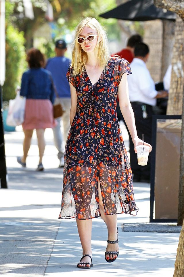 Elle Fanning Elizabeth and James McKinley Sunglasses