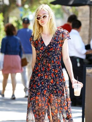 Elle Fanning Just Wore Sunglasses Rihanna Would Love