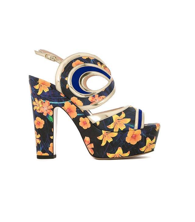 Nicholas Kirkwood Suzy Graffiti Sandals