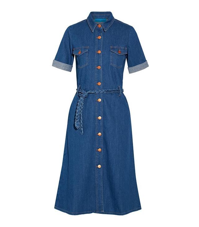 M.I.H Jeans Belted Denim Dress