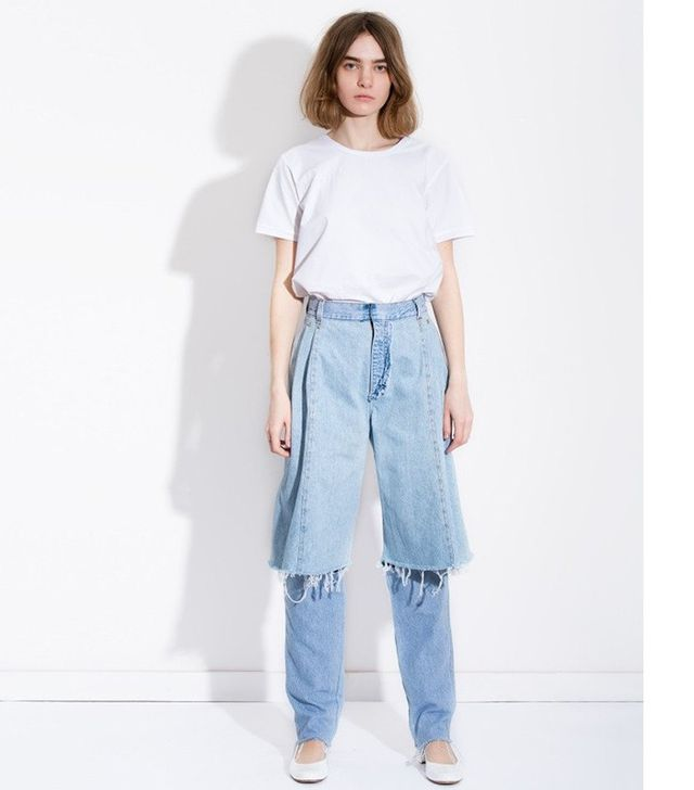 Ksenia Schnaider Light Blue Demi-Denims