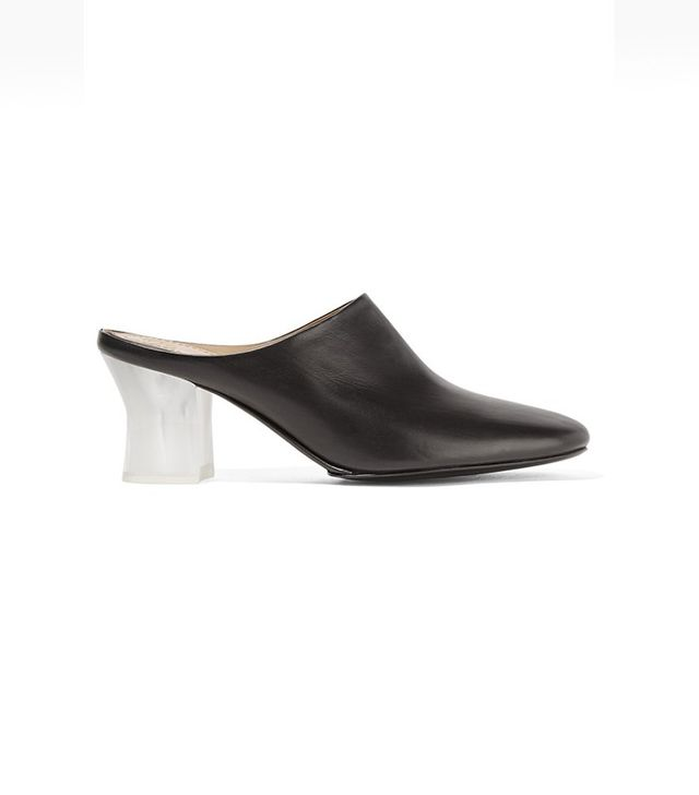 The Row Adela Leather Mules