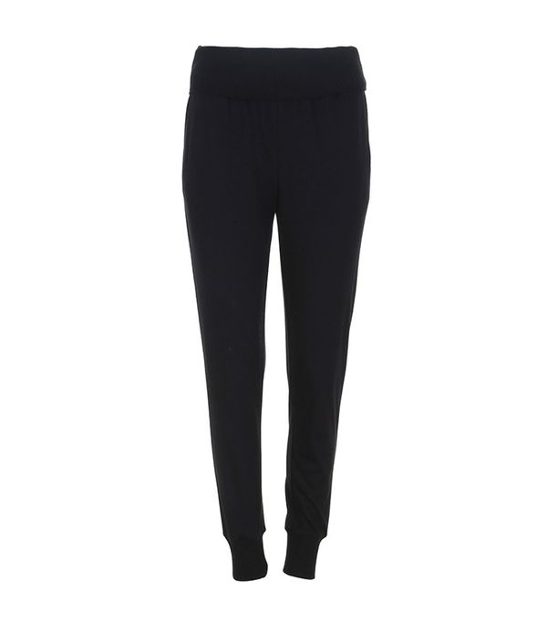 Tibi Wool Jersey Ribbed Track Pants