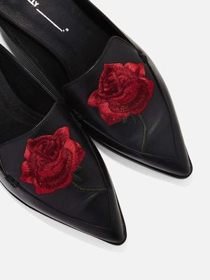 Editor-Approved Embroidered Mule Loafers to Shop Now
