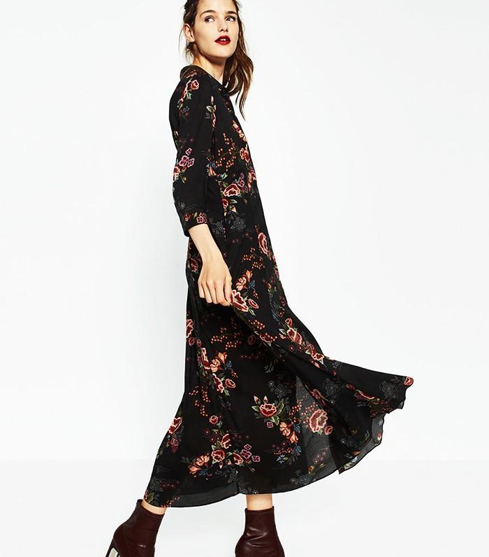 Zara Short Printed Dress