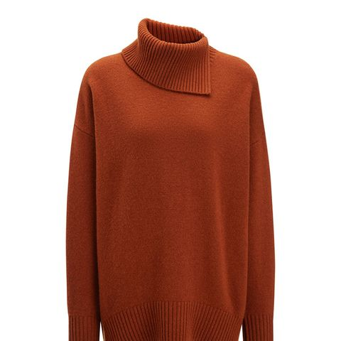 Soft Wool High Neck Sweater