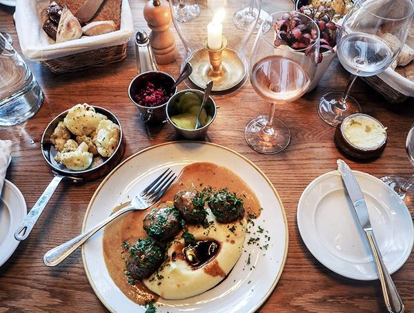 """""""No trip to Stockholm is complete with meatballs and lingonberries. Think I might have found some of the best at Nytorget 6 in Sodermalm."""""""