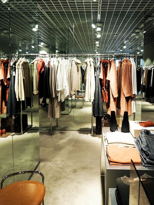 """""""Couldn't resist popping into my favourite Swedish brand Filippa Kfor some shopping between shows."""""""