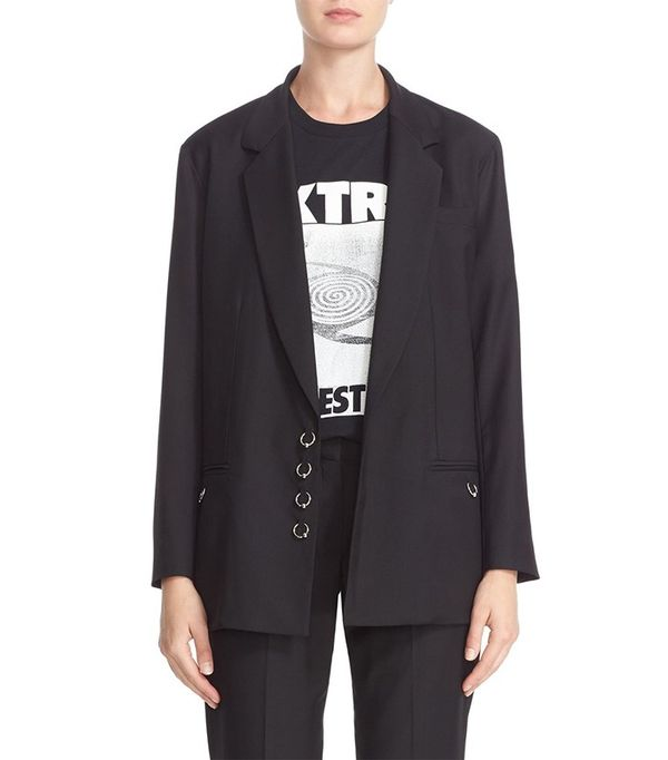 Ashley WIlliams Piercing Wool Blazer