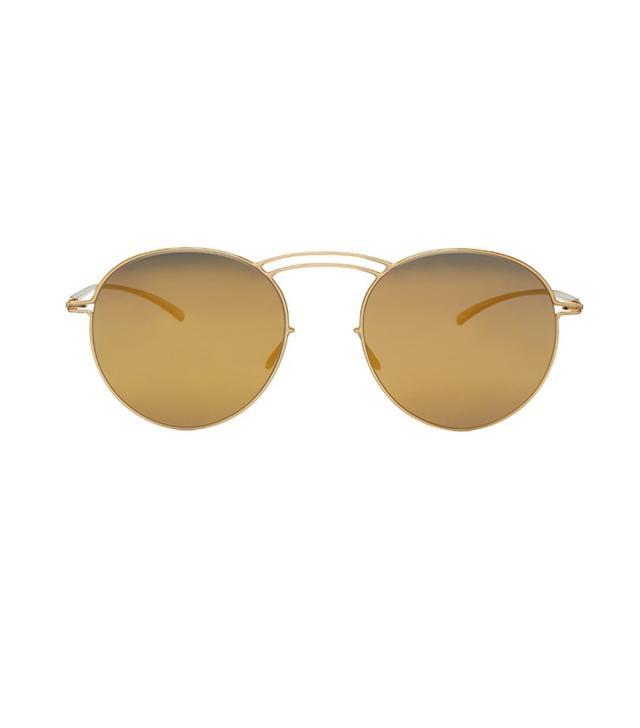 Maison Margiela Gold Mykita Edition Sunglasses