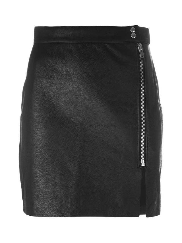 IRO Front Zip Mini Skirt
