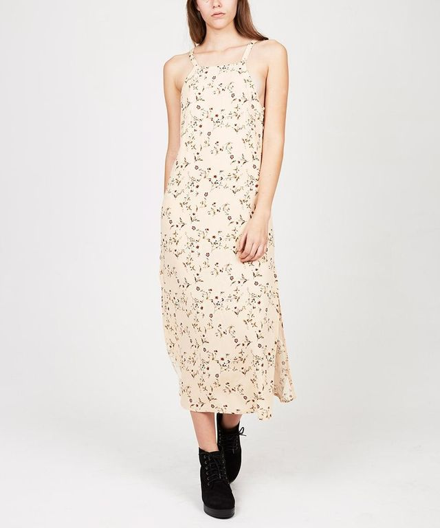 Don't Ask Amanda Trago Folk Tie Back Dress